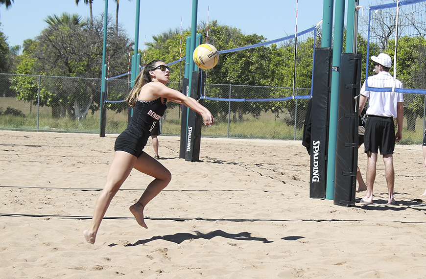Photo for Beach volleyball wraps up inaugural season with two dual matches
