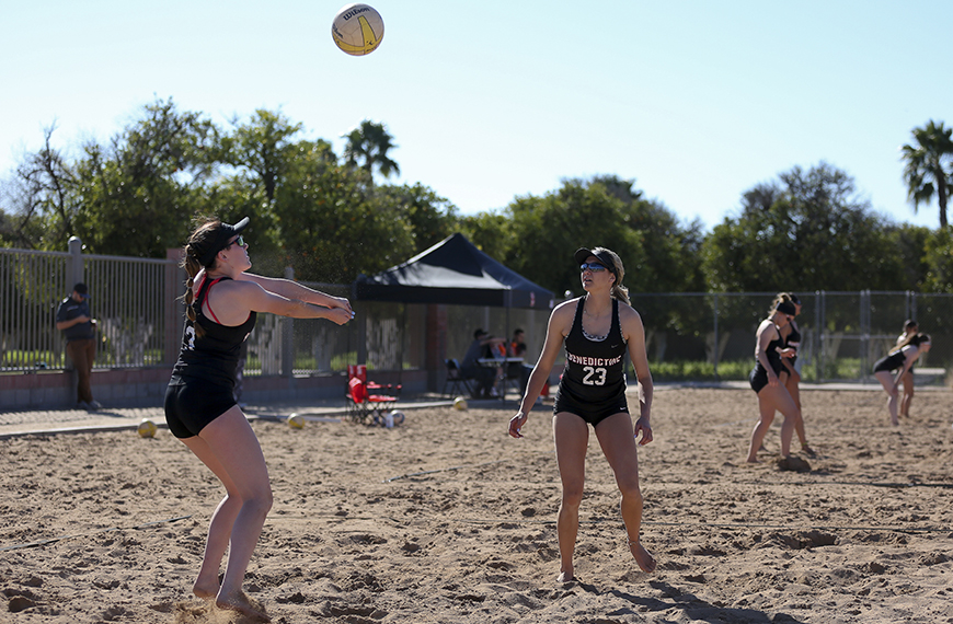 Photo for Beach volleyball finishes up inaugural matches in San Diego this weekend