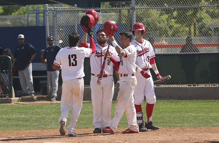 Photo for Wrap-up: Baseball knocks first season out of the park