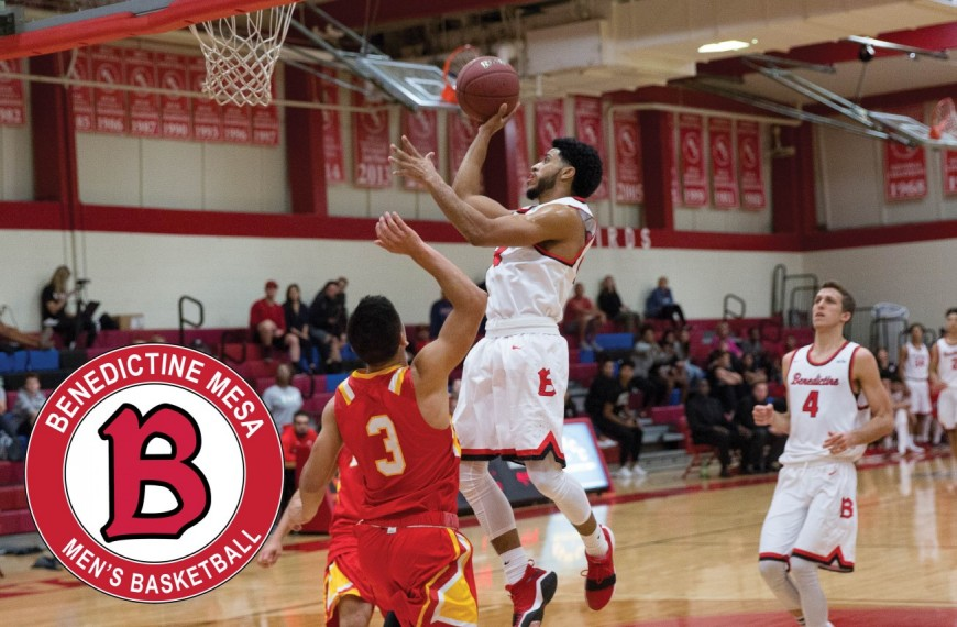 Men S Basketball Guts Out Victory Over Bacone Benedictine University At Mesa Arizona